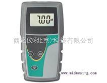 ¥¥便携式PH计/耐高温PH计/探头式酸度计(0-100度) 型号:MWPH6+7352101B