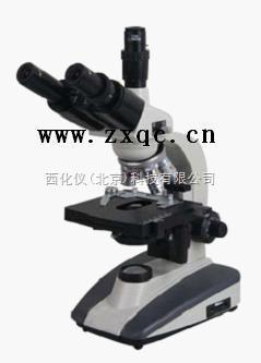 三目生物显微镜
