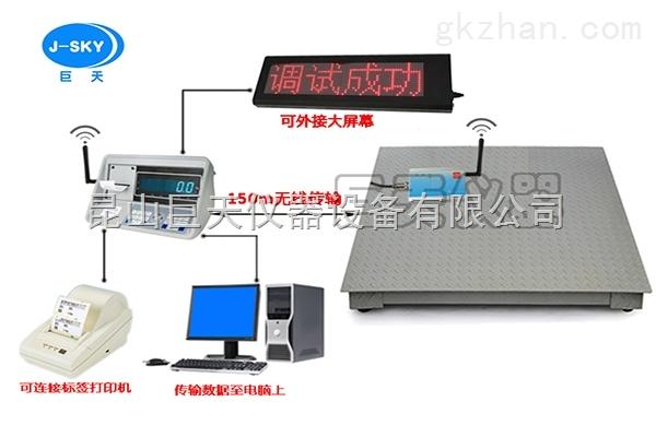 zui新研发无线传输电子小地磅,1吨~5吨远程称重操作电子磅秤