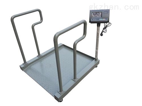 300KG透析轮椅称防腐蚀,透析用轮椅电子秤