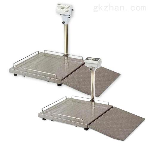 200KG医院轮椅磅称,透析用轮椅电子秤