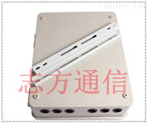 SMC48芯光纤分纤箱抱杆式光缆分线箱48芯光纤楼道箱