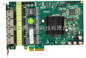 研祥工控机ENC-2421E 高性能PCIE 4X 四电口千兆网卡