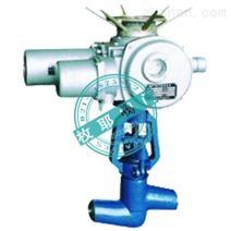 电动焊接截止阀J961H