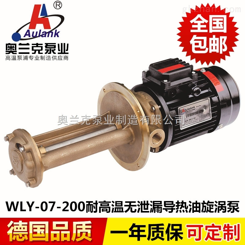 机床热油循环高温泵