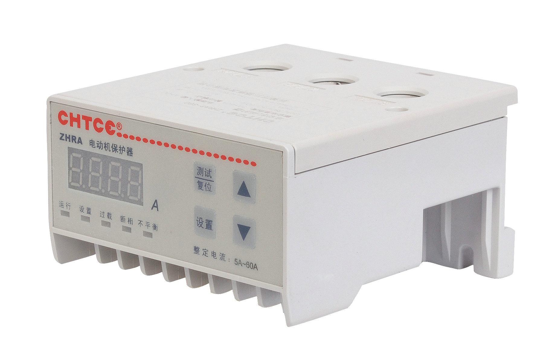 综合保护器与电流表接线图