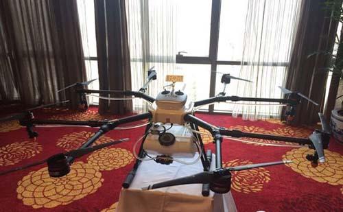 大疆3月下旬正式发售MG-1农业植保机