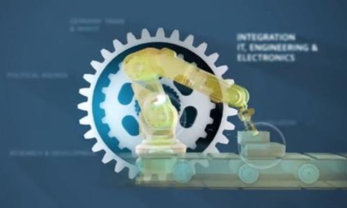 德国工业4.0宣传Industry 4.0