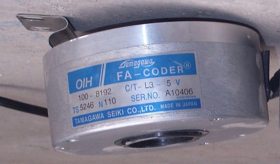 供应多摩川电梯编码器ts5246n160(oih100-8192