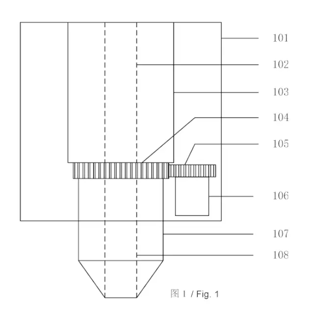 3d打印机喷头结构及其速度和精度控制方法
