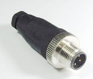传感器M12插头