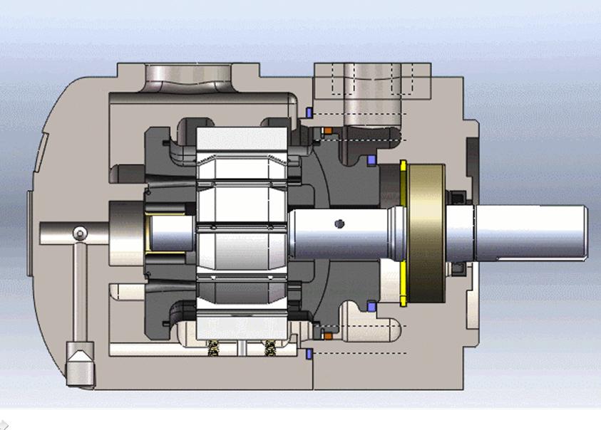 汽油泵内部结构