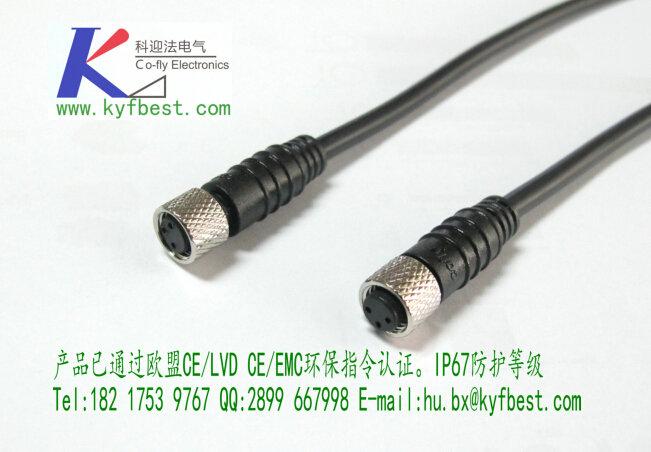上海科迎法电气科技有限公司生产的M8插头产品结构以及性能要求符合欧标工艺,通用性好。咨询。