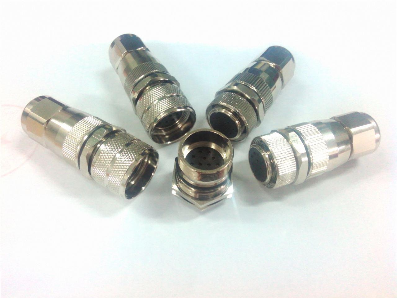 科迎法专业接受混合式多功能圆形连接器特种定制