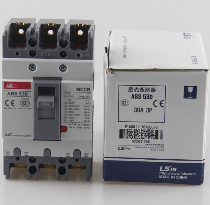 abs53b-ls产电abs53b塑壳mec断路器mccb-乐清市赛腾