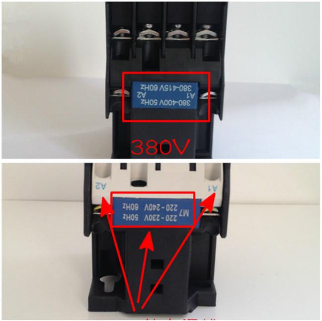 220v和380v交流接触器的接线方法有哪些区别